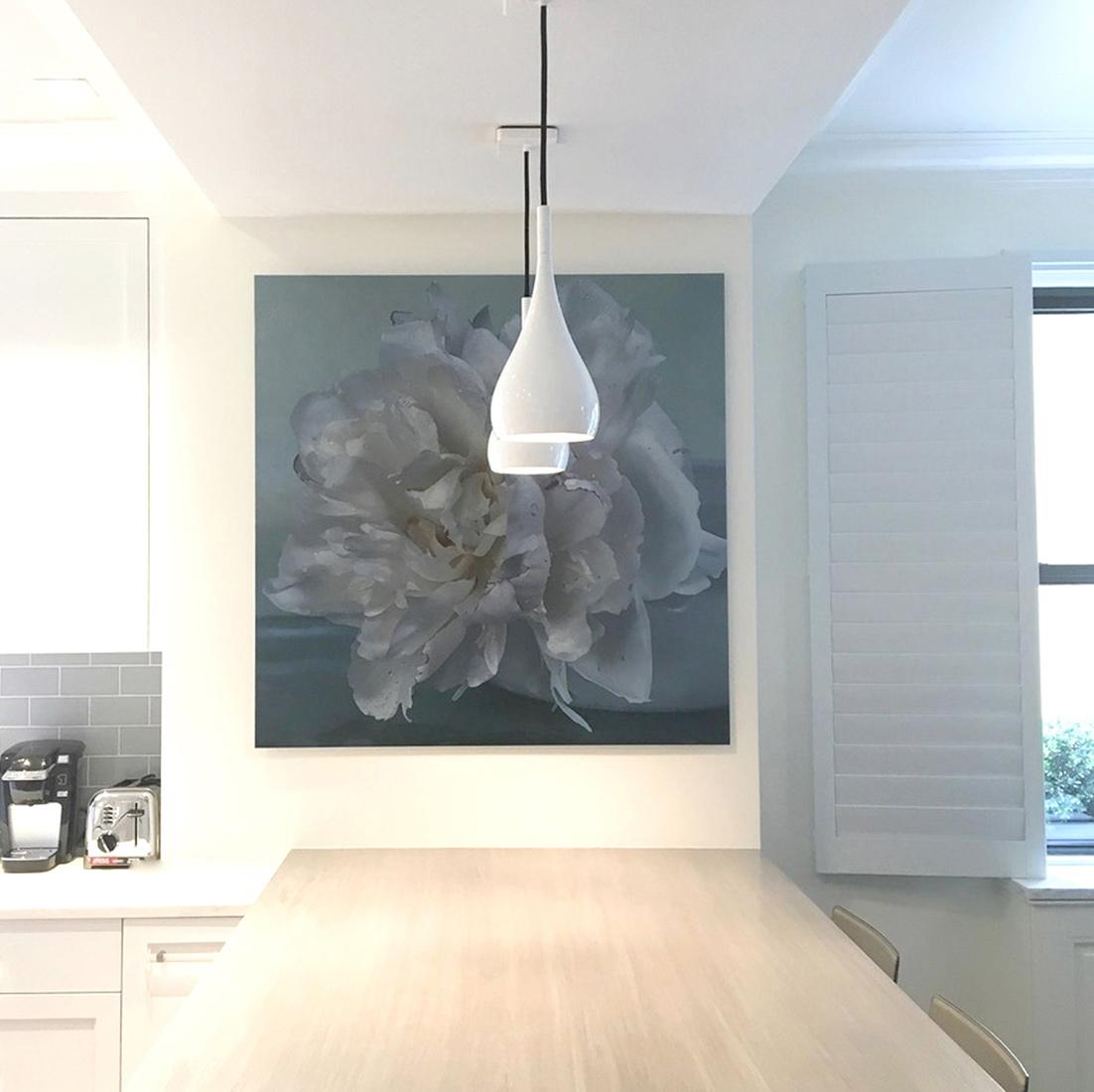 Peony 2018, white 1, installation
