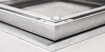 aluminum bloat backing